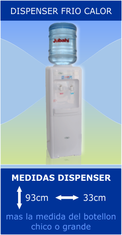 Dispenser Frio Calor